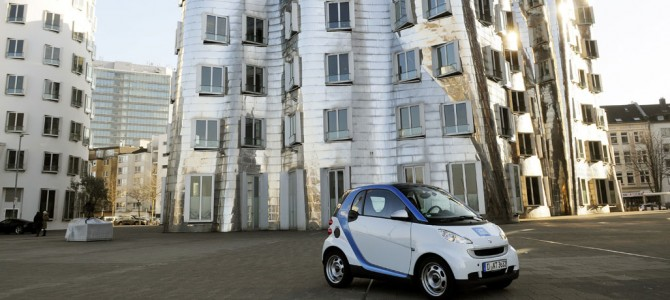 car2go Dsseldorf macht die Firmenlufer auch 2013 mobil.