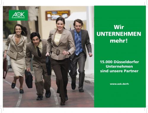 AOK Rheinland / Hamburg: Wir unternehmen mehr!