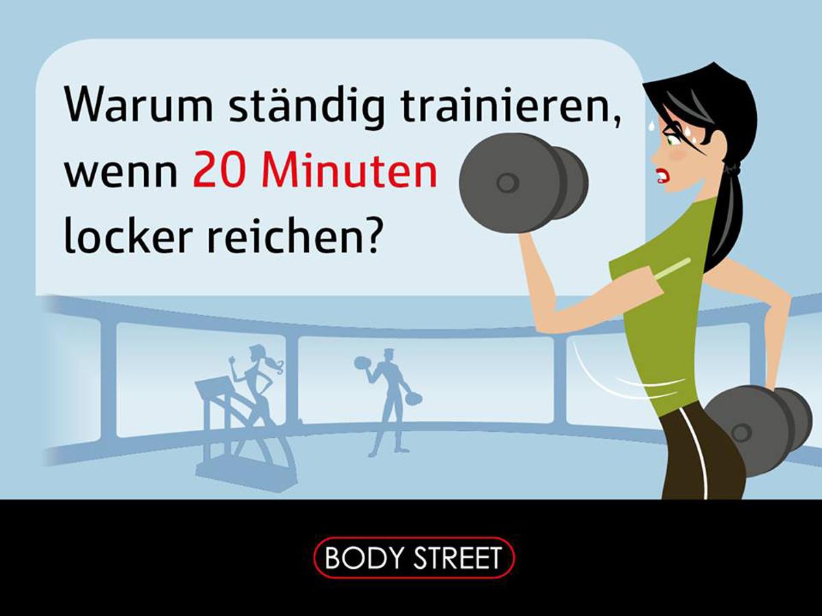 Bodystreet EMS Training als Partner des Düsseldorfer Firmenlaufes 2016